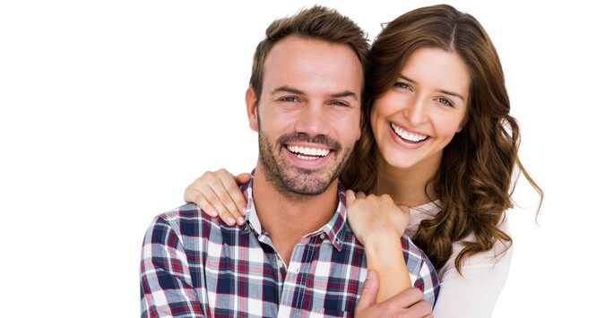 Smile Makeover Delray Beach Couple Smiling